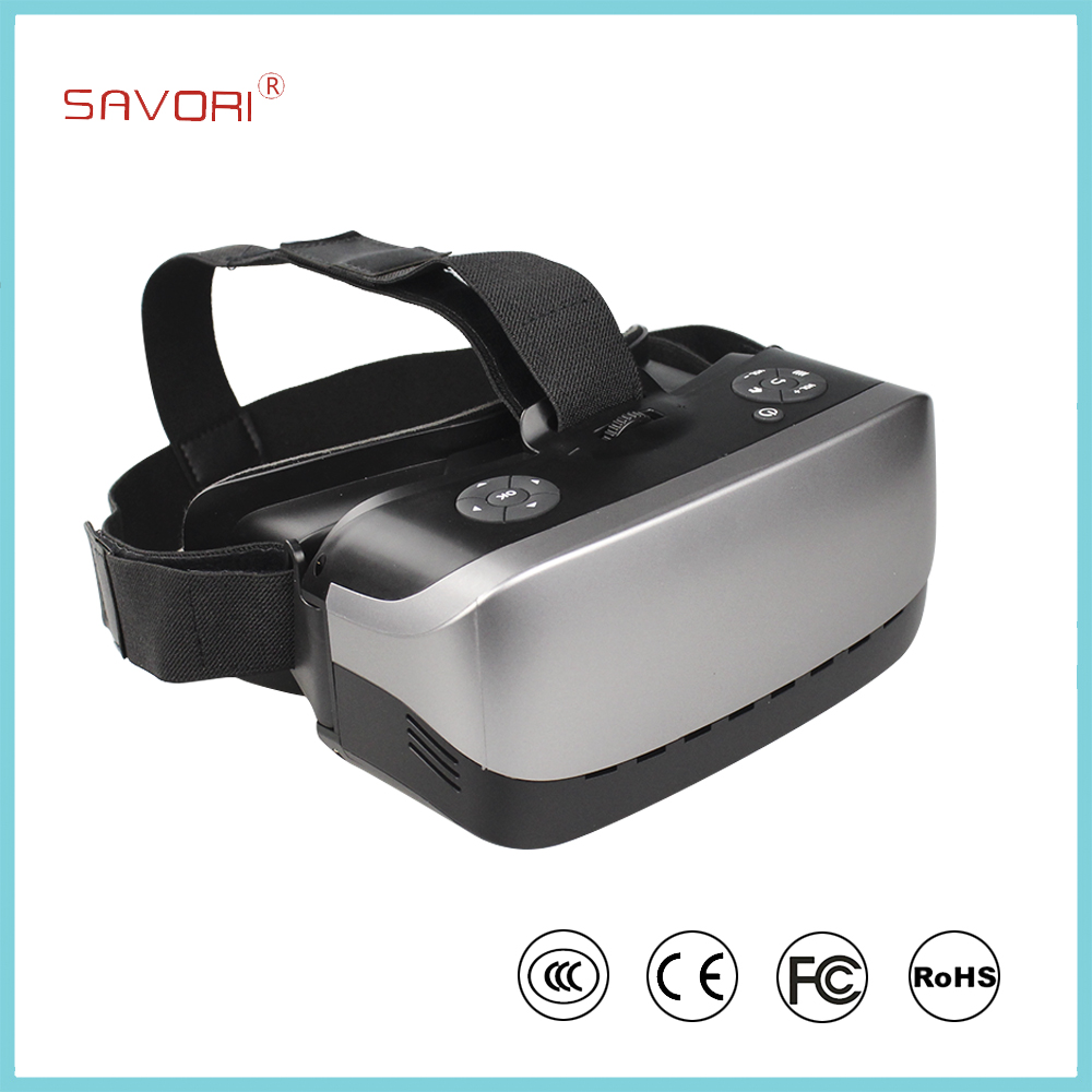 2016 new arrival high definition smart 3d glasses all in one box vr mini space cinema