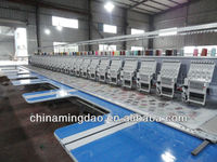 6-24 Heads high speed embroidery machine,high speed sewing machine