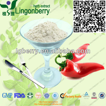 Natural chili pepper extract powder capsaicin