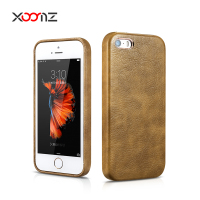 XOOMZ PU Leather Cell Phone Case for iPhone SE