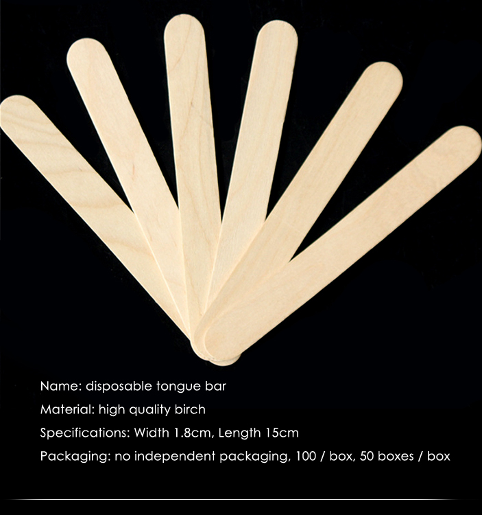Beauty care wax wood Disposable Sticks Toiletry Kits