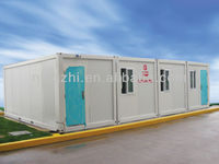 Container house for bunkhouse cabins