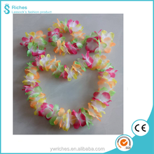 Yiwu Riches Polyester Wholesale 170T Fire Resistant Hawaiian Lei for Party