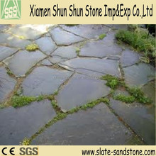 Cheap Chinese natural irregular flagstone for floor paving