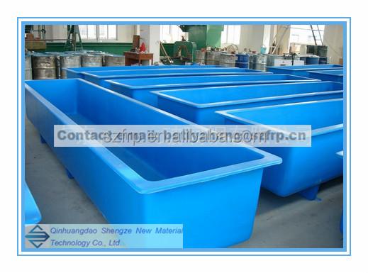 Frp fish farming tank frp round aquaculture pond fish for Aquaculture fish tanks