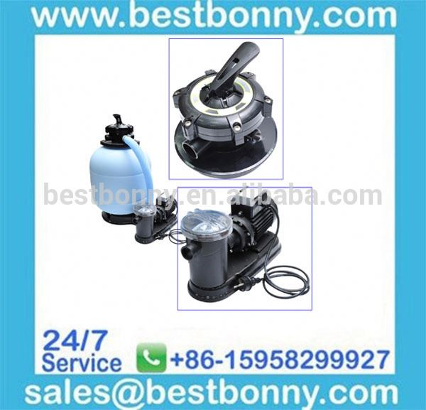Environmental friendly swimming pool silica sand filter
