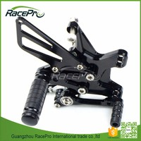 Brake Rearset Shift Rearset Standard Shift Rear Sets CNC Motorcycle Rearsets For Kawasaki ZX10R 2011