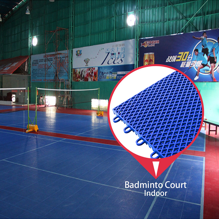 Low price factory wholesale for flooring badminton court