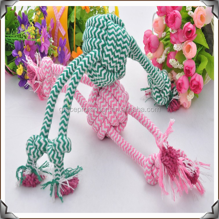 Wholesale pet products cotton rope toys dog toys for chew