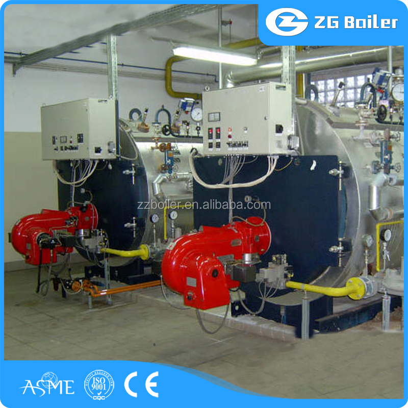 Textile, Paper, Food, Industry Used oil gas fire tube boiler for industrial bakeries