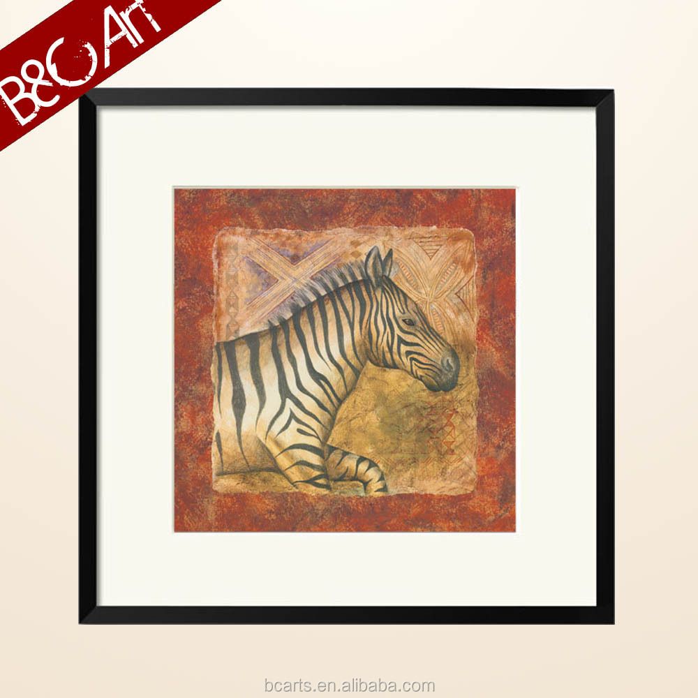 ZS(41071) High quality printed paintings of wild horses for home decoration