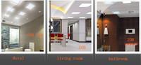 AC85-265V square led panel light warm/cold white ceiling lights for kitchen/bedroom/livingroom/dining room/classroom/washroom