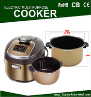 Aluminum Pot 12 Menu And 24h Preset Multipurpose Pressure Cooker