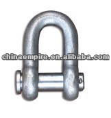 Marine d type joint shackle wire rope lifting lashing