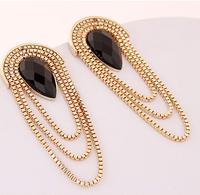 Fashion imitation jewelry earrings women diamond jewelry
