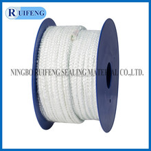 white Texturized Glass Fiber Square Rope