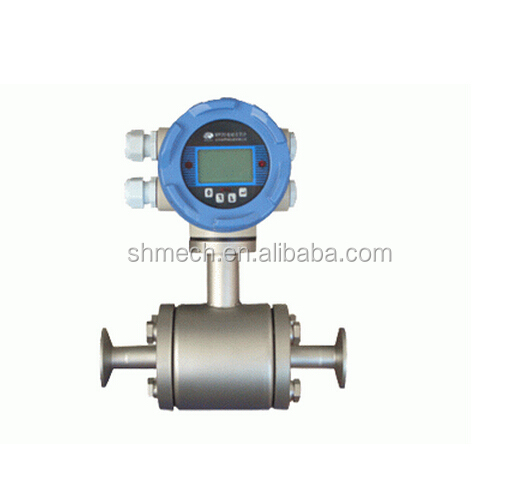 High quality sanitary magnetic flow meter for sale