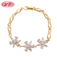 Wholesale Rose Gold Plating Stackable Bangle Charm Bracelets