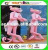 Realistic inflatable pink panther/ inflatable pink panther model / inflatable pink panther for sale