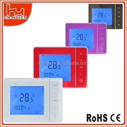 Digital control thermostat heating