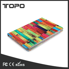 9.7 inch shockproof flip leather case tablet cover for iPad 2/3/4/5/6 with card holder