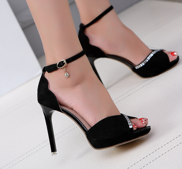 S11184A 2015 Footwear Shoes Fashion Cheap Girls High Heel Shoes Spring Women Shoes