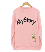 fashionable style custom design women hoodies & sweatshirts