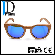 Sunglasses 2017 Bamboo Wooden Sunglasses with colorful lens custom bamBoo eyeglasses