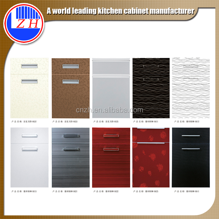 OEM standard acrylic kitchen cabinet door in good price for America market