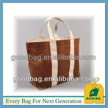 natual canvas folding chair bag MJ-CL-101328 with long handle guangzhou factory made in china .