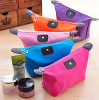 Woman Multi-colors Fashion Lady Travel Cosmetic Pouch Bag Clutch Storage Makeup Bag