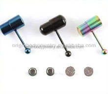 Surgical Stainless Steel Vibrating body piercing Jewelry