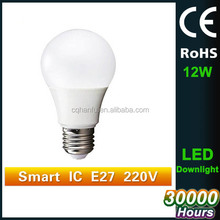 12w China manufacturer led light bulbs,wholesale led bulb,plastic housing bulb led light