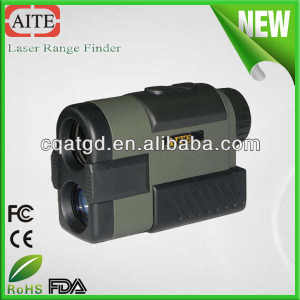 chinese 6*24 600m telescope monocular rangefinder Aite waterresist electronic golf distance measuring instruments