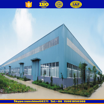 Prefabricated steel structure low cost of warehouse construction