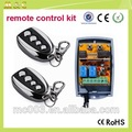Smart home system 433.92mhz 2 relay receiver transmitter module 24v YET402PC-V2.0