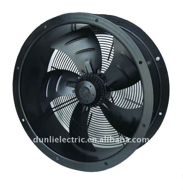 Aaxial fan motors with ventilation inlet- 550mm