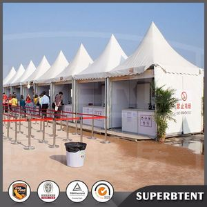 luxury 3x3 4x4 5x5 6x6 8x8 10x10 pagoda tent for wedding party event