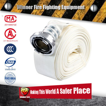 Rubber Lined Fire Hoses for fire fighting with storz coupling