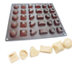 DIY various shapes Silicone Chocolate mould polycarbonate Candy Baking Molds