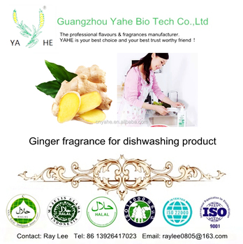 Ginger fragrance oil concentrated liquid for kitchen clean and detergent from factory