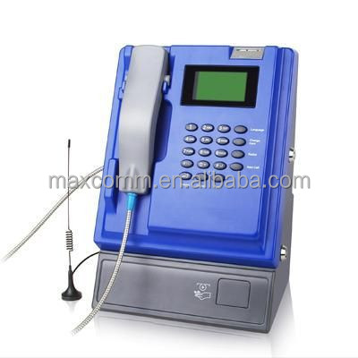 GSM 850 900 1800 1900 MHz WIRELESS INDOOR COIN OPERATED PAYPHONE