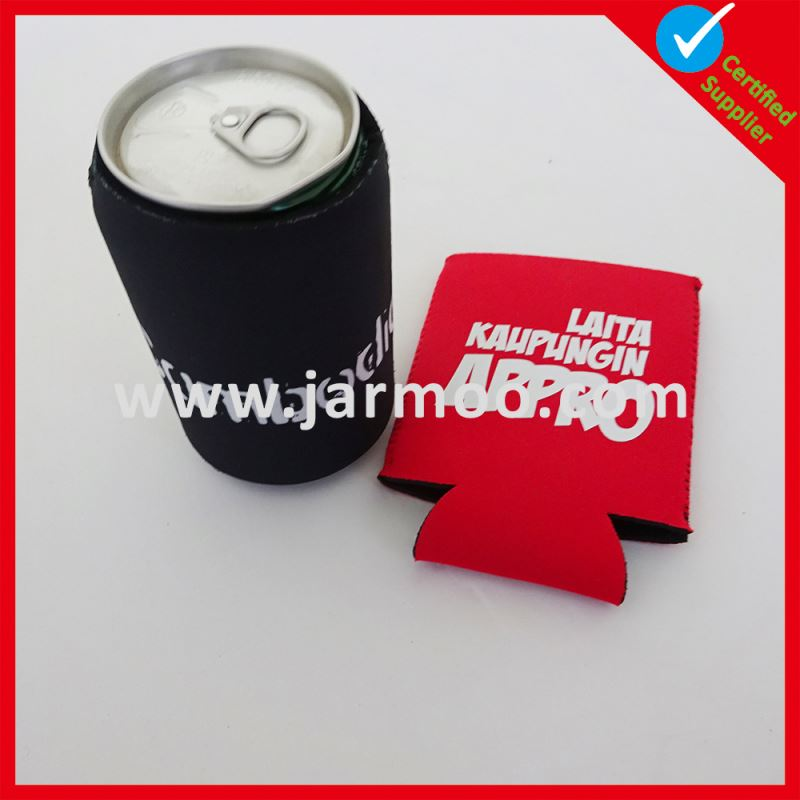 Factory directly novelty neoprene can cooler with bottom