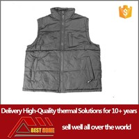 made in china Custom made polyester heated vest motorcycle