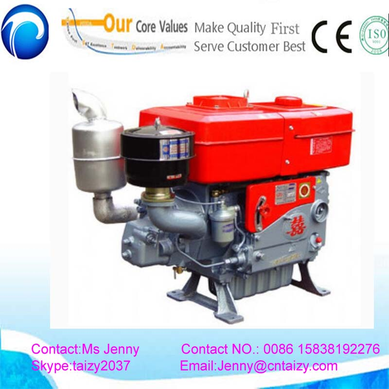 25 hp Single cylinder diesel engine 1223