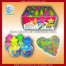 Colorful Mini Star Bottle Hard Candy
