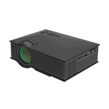 UNIC Projector Manufacturer UC46+ Wifi Bulit-in Mini LED 1200Lumens Best Home Theater Connect Mobile Phone by USB Cable