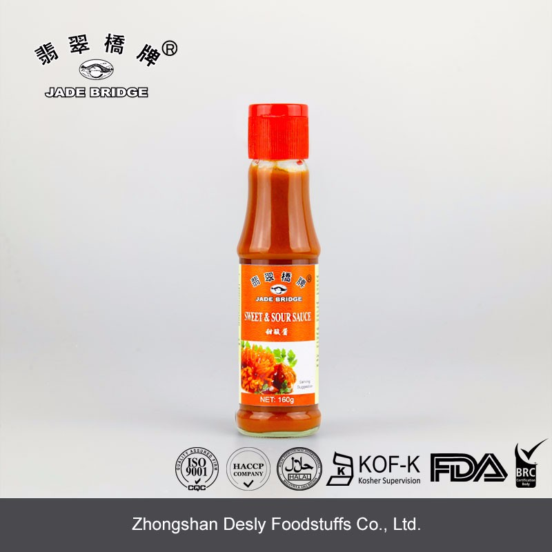 Good flavor sweet sour sauce 160g small bottle