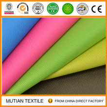 600D Polyester waterproof Film coating oxford fabric