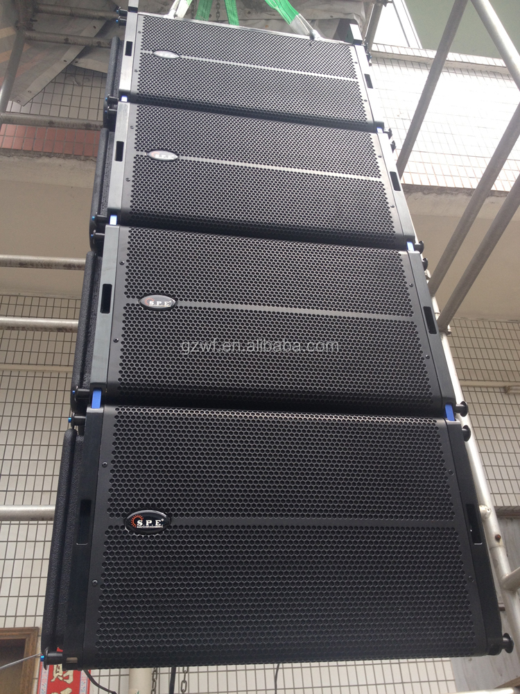 Stage Powered 12 inch Line Array Amplified Speaker LA-2AD